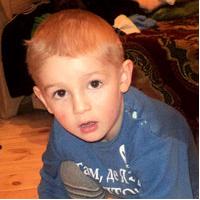 3 year old Miroslav Kozlovtsyu