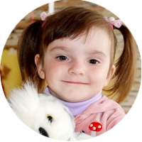 2 year old Nastusi Lukyanenko